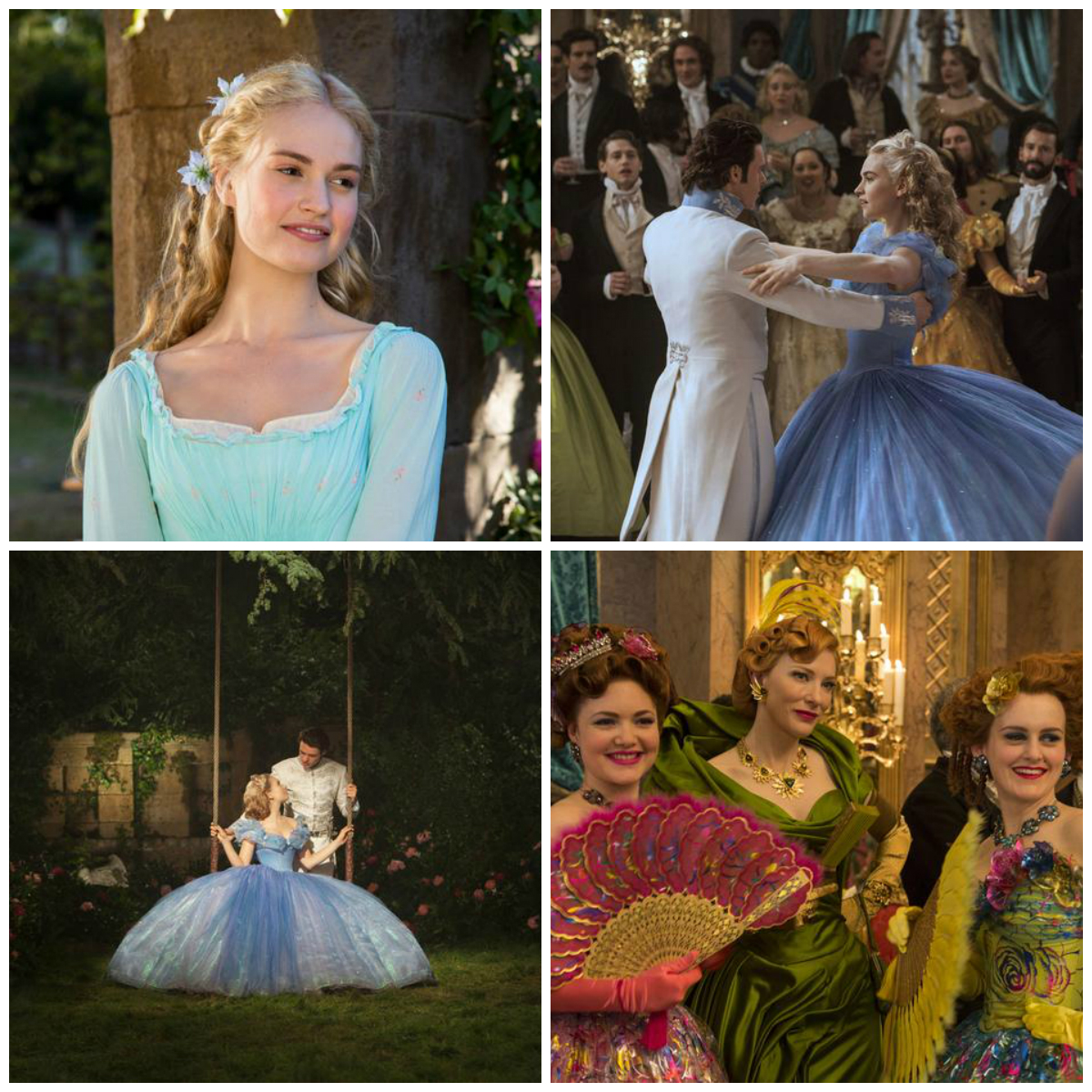 collage cinderella