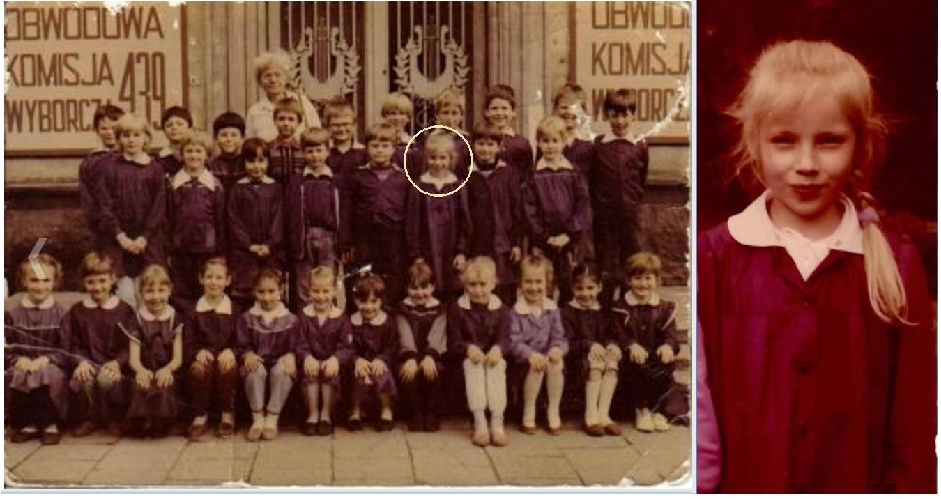 Zdjęcie klasowe 1989 + ja