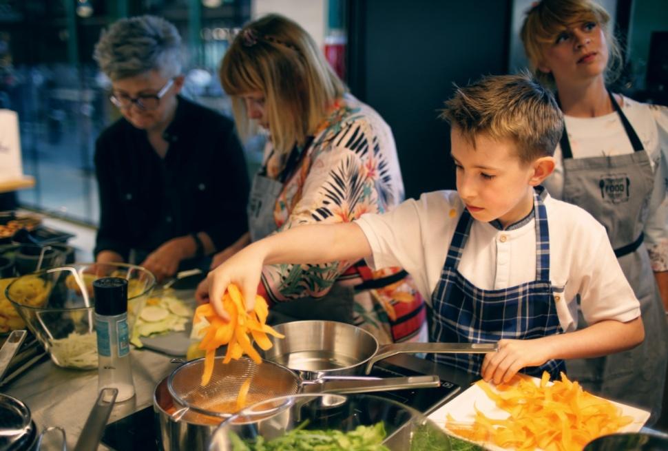 zwycięzca Master Chef Junior , tvn, gotowanie, zwycięzca, hala koszyki, event pr