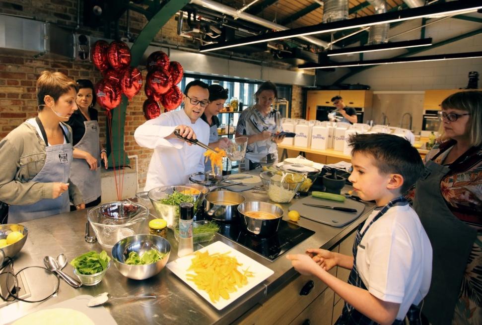 pytanie na śniadanie, kucharz, event, letnie przekąski, danone, master chef,
