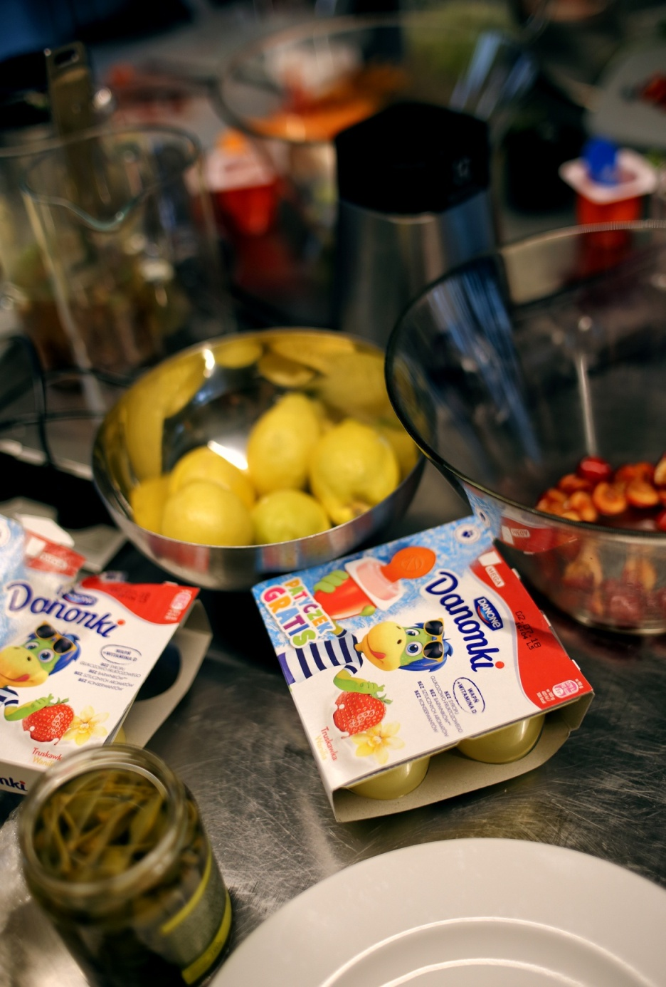DANONKI, deser, podwieczorek, dzieci, jogurt, gotowanie, kuchnia