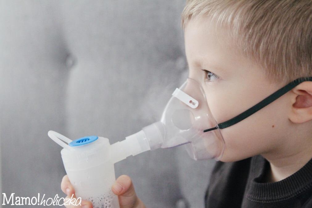 nebulizator, katar u dziecka, przeziębienie, sól fizjologiczna, domowe sposoby