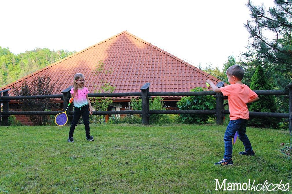 badminton, badmington, badbington, dzieci, wielodzietni, zabawa z dzieckiem, urodziny dziecka, jaki prezent