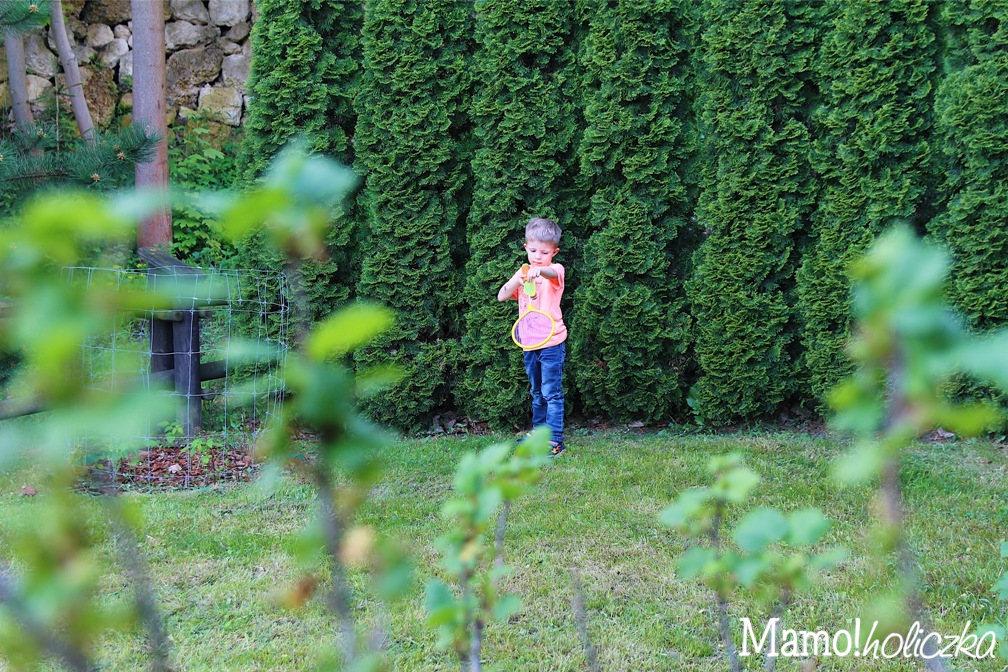 w co bawić się z dzieckiem, przedszkolak, paletki, ogród, pomysł na zabawę z chłopcem, gdzie kupić fajne zabawki