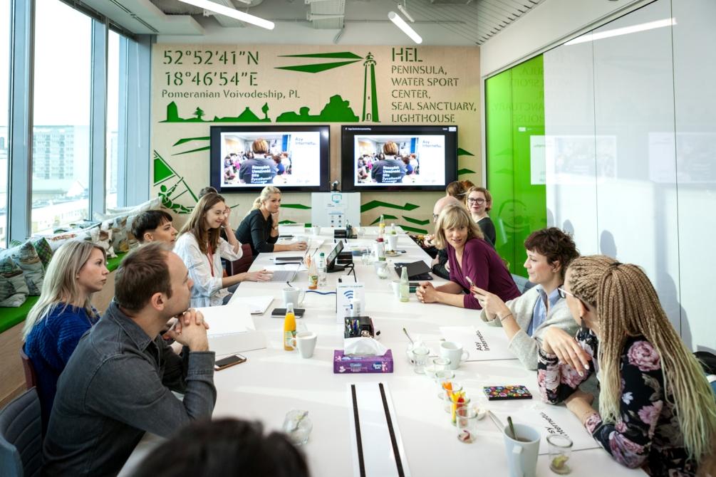 spotkanie biznesowe, google polska