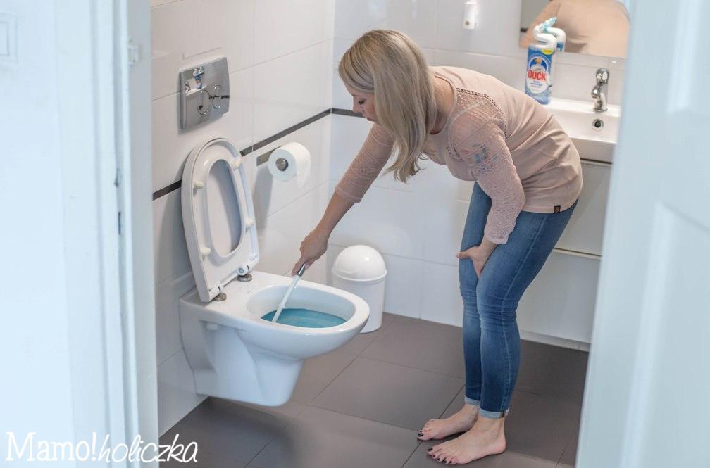 czysta łazienka, zapach, bakterie, toaleta, czyszczenie toalety, jak umyć toaletę, duck