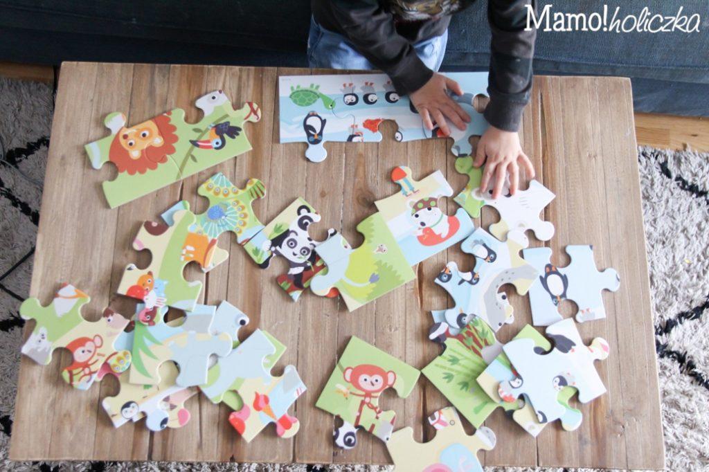 układanie puzzli, duże puzzle dla dziecka, prezent dla dziecka, żłobek